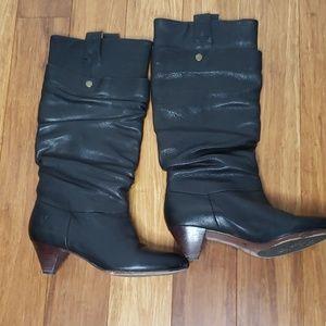 Frye Jenny Double Boot Size 6.5 Black